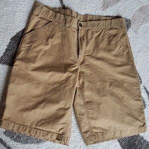 Faded Glory Khaki Cargo Shorts